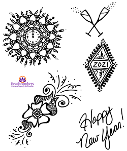 2021 henna deisgn. Henna for the new Year