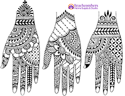photo regarding Henna Templates Printable identified as Totally free Henna Downloads and eBooks