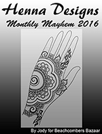 Free henna designs eBook: A collection of our free henna designs from 2016.