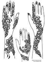 Free gulf style henna designs to download