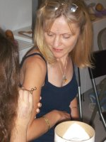 Fun in the Simply Henna for beginners class.