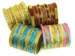 Glass bangles, Indian bangles, wedding bracelets, and more Indian ethnic accessories