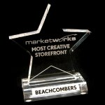 Beachcombers Bazaar website award for design and navigation
