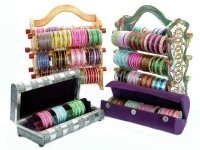 Indian glass bangle displays, bangle stands, bracelet racks, tree stands, storage boxes and more