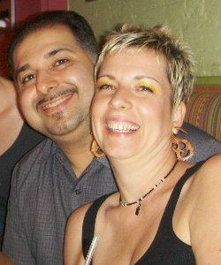 Jody & Asad, Beachcombers Organics for wood earrings in Orlando