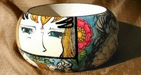 Anime high art bangle from the Bajidoo Premium Line.