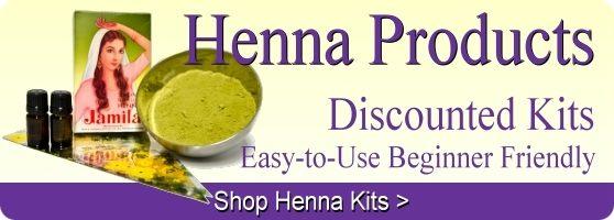 Easy to use henna tattoo kits make the art of henna easy.