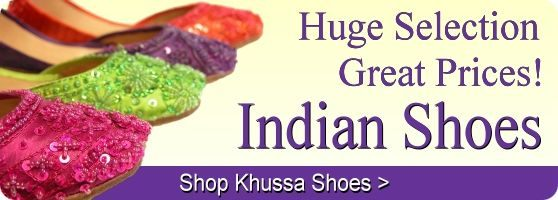 Buy khussa Indian shoes online for great prices!