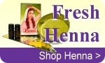 Free shipping offers on henna kits, khussa shoes, and Indian jewelry.