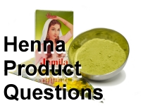 Henna product questions and answers