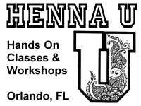 Henna U classes and workshops in Orlando