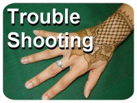 Trouble shoot henna problems and issues