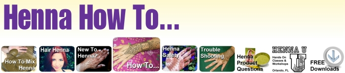 Learn how to do everything henna!