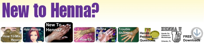 New to henna? Get started here with the henna basics.