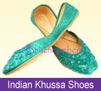 Khussa Indian shoes in a variety of colors and sizes. More selection at our website.