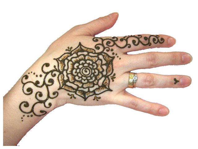 Beautiful henna tattoos by professional Orlando henna artist, Jody Rogers