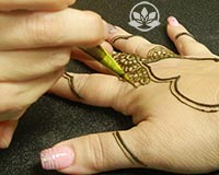 Learn the anatomy of a henna design to create your own henna style.