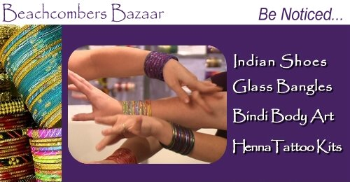 Henna Tattoo Products ♦ Bindi ♦ Bangle Displays